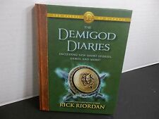 THE DEMIGOD DIARIES INCLUDING NEW SHORT STORIES, GAMES & MORE  RICK RIORDAN New!
