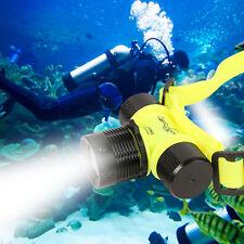 1000LM CREE LED Underwater Waterproof Diving Headlamp Flashlight Torch Headlight