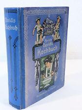 "JUGENDSTIL KOCHBUCH ""HENRIETTE DAVIDIS KOCHBUCH"" UM 1910 über 400 Seiten"