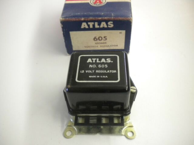 ATLAS 605 Voltage Regulator Pontiac 1963-67