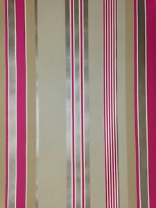 Wallpaper-Designer-Stripe-Khaki-Tan-Copper-Gold-Red