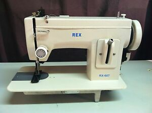 Rex 607 Leather Portable Upholstery Walkingfoot Heavy Duty Sewing