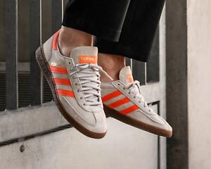 Acusación electrodo Interrupción  BNWB & Genuine Adidas originals ® Spezial Grey Orange Suede Trainers UK  Size 8 | eBay
