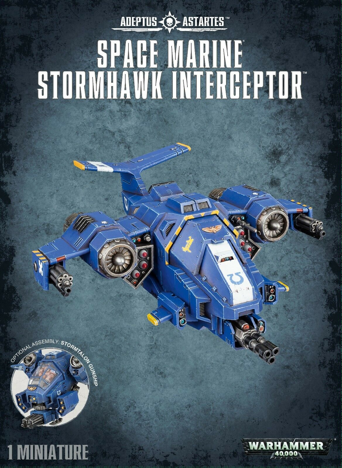 Warhammer 40K  Space Marine Stormhawk Interceptor 48-42