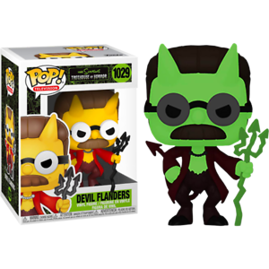 Flanders-Devil-Glow-GITD-The-Simpsons-Funko-Pop-Vinyl-New-in-Box