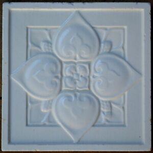 Antique Boote Art Nouveau Majolica Tile C1900 Ebay
