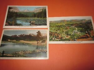 3-Vintage-1-Used-Postcard-Denver-Mountains-amp-Union-Pacific-Railroad-Themed-2