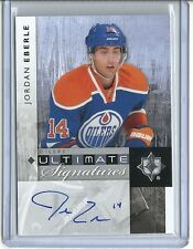 2013-14 Ultimate Collection JORDAN EBERLE Ultimate Signature Autograph 11-12