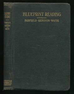 Manual blueprint reading mechanical drawing by fairfield kenison image is loading manual blueprint reading amp mechanical drawing by fairfield malvernweather Choice Image