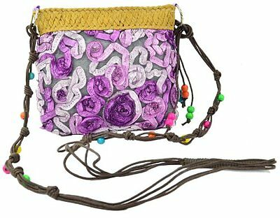 Damen Blumen Detail Hochzeitsfest Frauen Handtasche