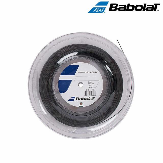 Babolat RPM Blast Tennis String Reel 17G 1.25mm 660ft 200m Black
