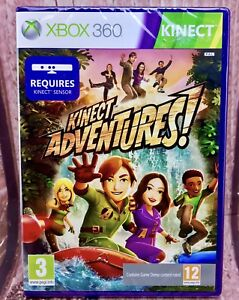 Details about kinect adventures xbox 360 Brand New Factory Sealed Game  Present Gift