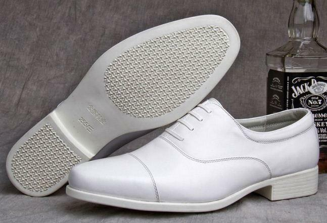 Mens oxford Low top business dress formal leather wedding white lace up shoes US