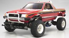 Tamiya 58384 1/10 RC Car 2WD Pick-Up Truck Kit Subaru Brat w/ESC & 2Bodies