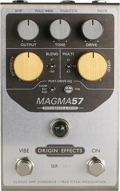 Origin Effects Magma57 Amp Vibrato Drive Pedal