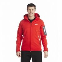 Regatta Hartson Mens Water Repellent Windproof Fleece Softshell Jacket Red
