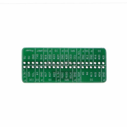 1PCS WEMOS GPIO Reference Card V1.0.0 Board For Raspberry Pi Model B+//Pi 2//Pi 3