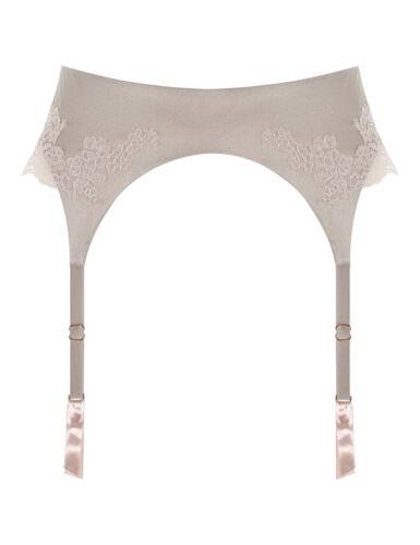 M//L RRP £ 110.00 BNWT Myla Heritage Seta Reggicalze in marmo//granito rosa