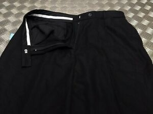 Genuine-British-100-Wool-EX-Police-Issue-Trousers-Bobby-Old-Bill-Retro-NEW