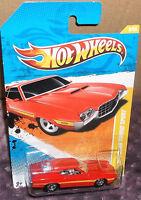 2011 Hot Wheels Models 2-2-244 Red '72 Ford Gran Torino Sport Diecast 4+