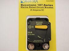 Surface Mount 40 Amps Bussman 187 Series Blue Sea 7138 DC Circuit Breaker
