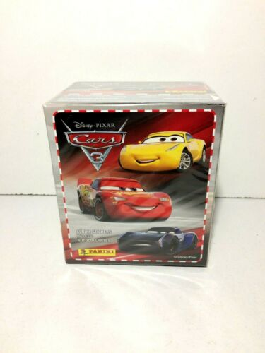 Panini 2017 Figurine-Stickers 1 BOX 36 BUSTINE CARS 3
