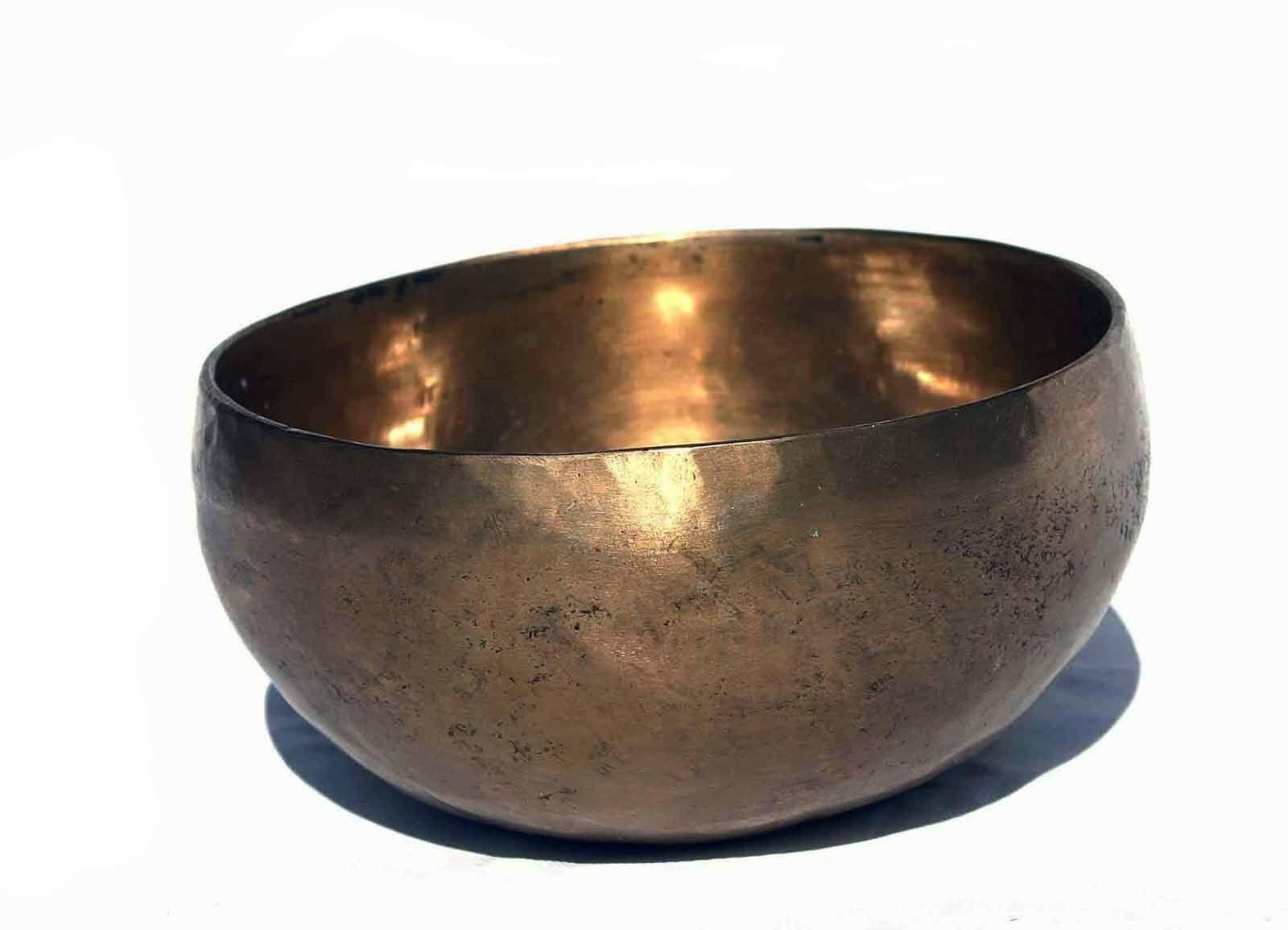 KLANGSCHALE Singing Bowl Tibet  HÖRPROBE 531g M69D