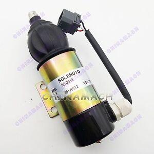 Stop solenoid 872826 for Volvo PENTA TAMD61A Perkins 1827650 12Vdc