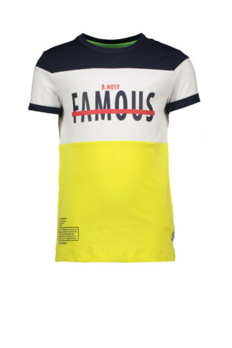 Mizolino 134//140 Gr 20/%!! B.Nosy T-Shirt in gelb//blau