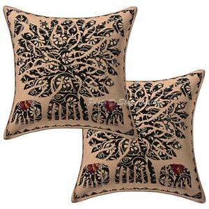 Dorm-Decor-Tree-Of-Life-Sofa-Cushion-Cover-Applique-Pillow-Case-Cover