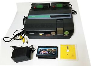 Sharp Twin Famicom Console AN-505 New Belt + 2 Games & Genuine AC Adapter Japan