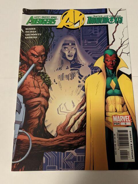 Avengers Thunderbolts #5 August 2004 Marvel Comics