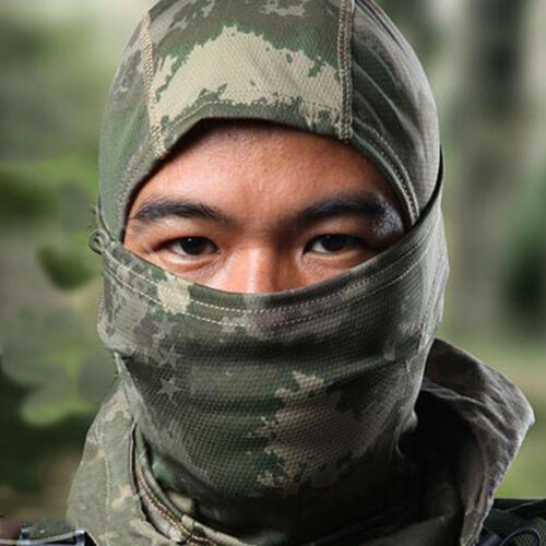 Multicam CP Balaclava Motorcycle Warm Ski Cycling Full Face Mask Cap Hat Cover