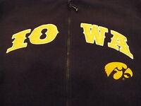 The Iowa Hawkeyes University of Iowa Varsity Champion Fleece Hoodie. Size Large