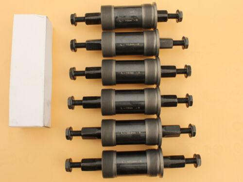SEALED CASSETTE Bottom Bracket Square Taper 110,113,116,119,122,127.5mm