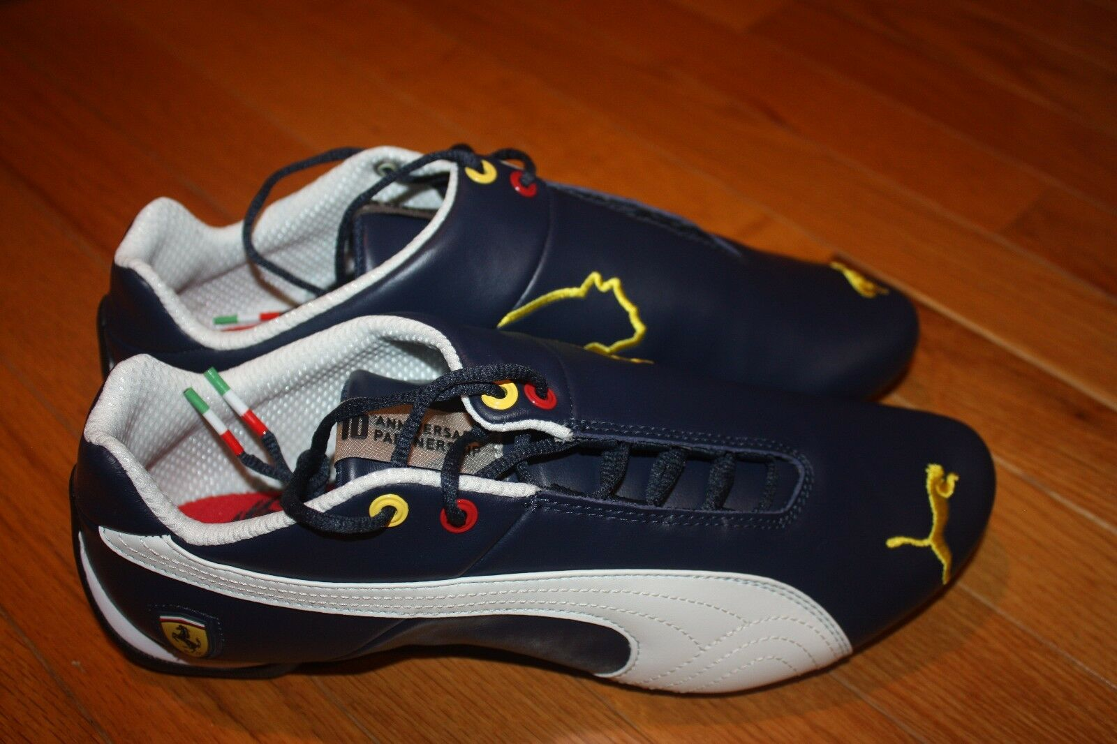 Brand New In Box PUMA Ferrari Future Cat SF 10 Leather Homme Chaussures SHIP FREE US