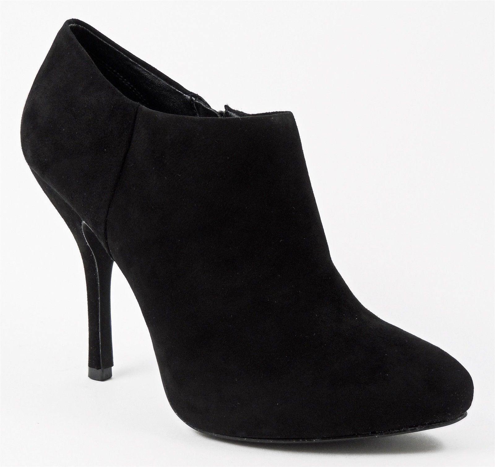 Inc International Concepts estás al al al tobillo Botines para mujer Negro Gamuza Talla 10 M  vendiendo bien en todo el mundo