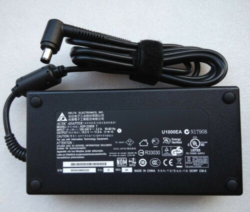 Original OEM Delta ADP-230EB Cord//Charger ASUS ROG G750JZ-DB73-CA,G750JZ-T4044H