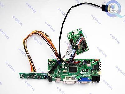 (HDMI+DVI+VGA) LCD Controller Board Driver Converter Kit for eDP LP125WF2-SPB1