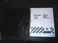 New Holland 7810s Tractor Parts Catalog Manual 7810 S