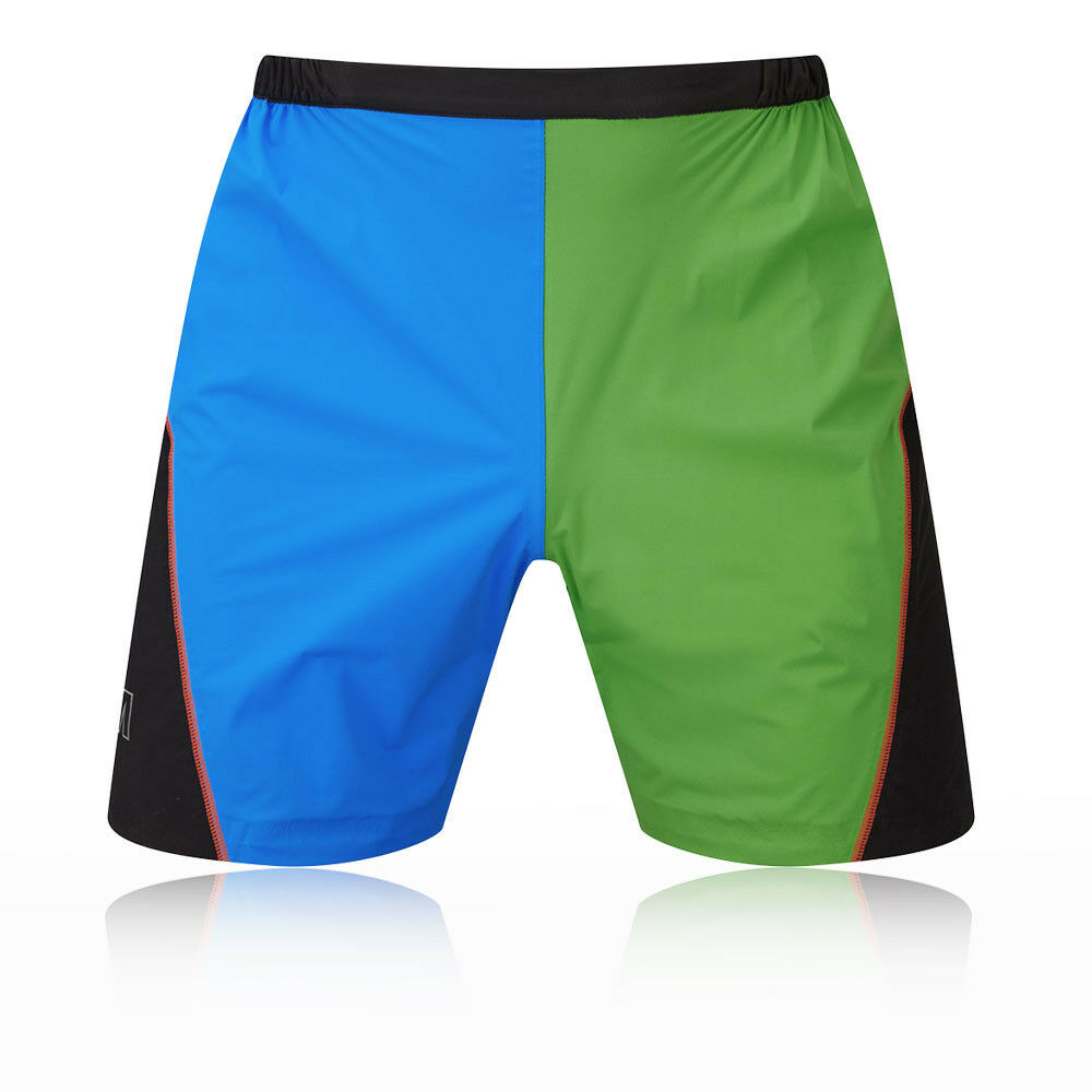 OMM Uomo Kamleika Shorts Pantaloni Pantaloncini Nero Blu verde Corsa Sport