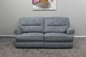 Marks-amp-Spencer-Berkeley-Designer-Chenille-Fabric-Manual-Reclining-Large-Sofa