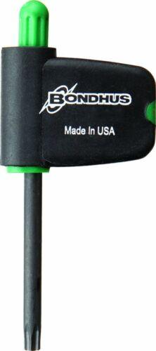 Bondhus 34405 T5 Star Tip Flag Handle Driver with ProGuard Finish 2 Piece