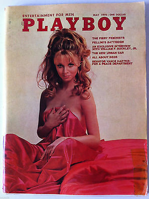 PLAYBOY US May 1970; Fellini's Styricon/ Interview William F. Buckley