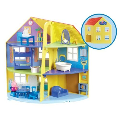 Peppa Pig Peppa/'s Deluxe Family Home House Large Playset Christmas Gift