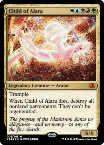 English Child of Alara Annihilation Foil FTV MTG magic cards 1x x1 NM-Mint