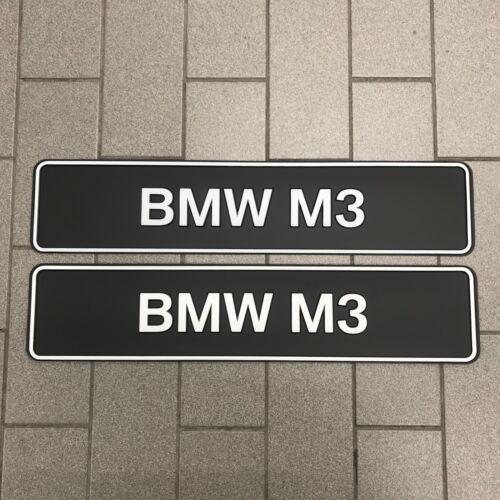 A estrenar genuino BMW M3 Set 81850300855 placa muestran
