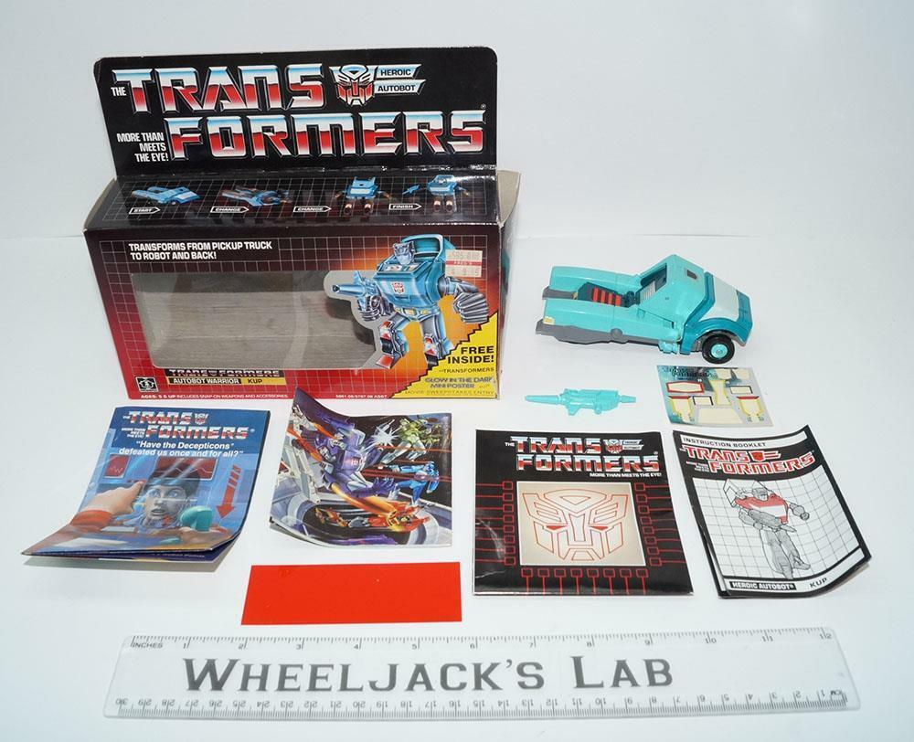 Recupera Menta en caja 100% completo 2018 Vintage Hasbro Figura De Acción Transformers G1