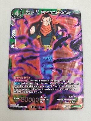 Super 17 The Infernal Machine P-080 Holo Foil Dragon Ball Super BT5 Promo