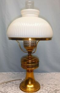 Vintage Antique Old Br Table Lamp W